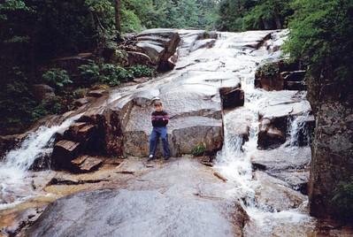 TJ at Zealand Falls