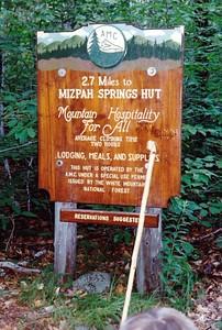 Mizpah Hut Welcome