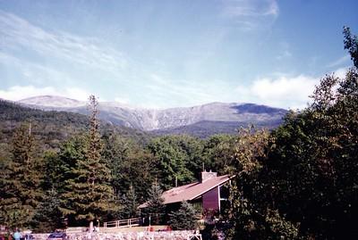 Tuckerman Revine and Mt Washington (Left) from Pinkham Notch