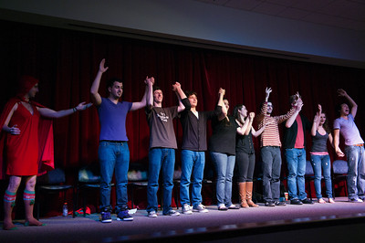 Muhlenberg College Improv performance, Dec.11, 2010