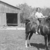 Ann, Horse, and Barn