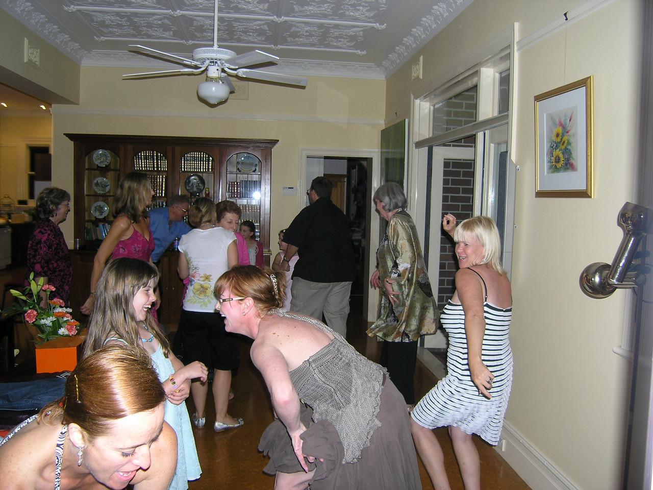The dancefloor hots up