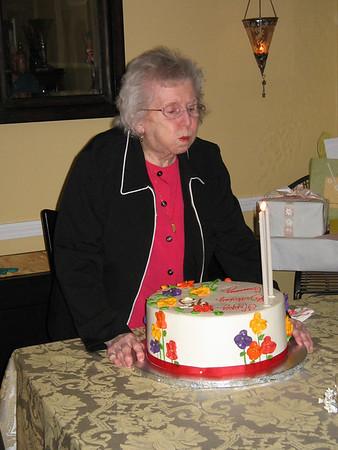 Mum's 95 Birthday Party