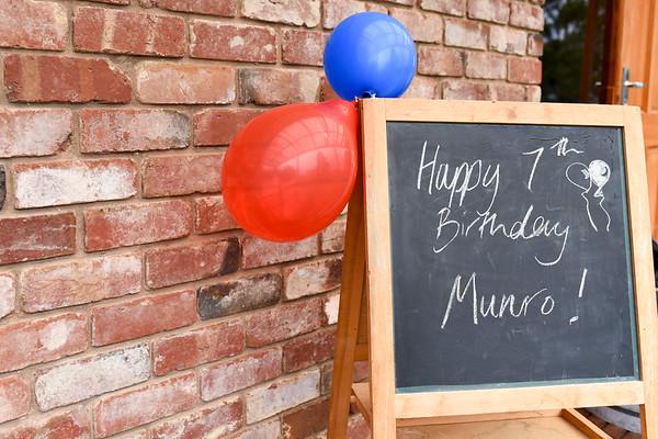 Munro's 7th Birthday