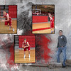 Basketball Collage 3 in one