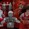 Large 12x24 FB Basketball collage Dark name