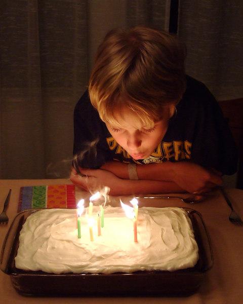 Kevin's 10th Birthday<br /> Bob and Grace Folsom's House<br /> Austin, Texas<br /> 20 December 2006