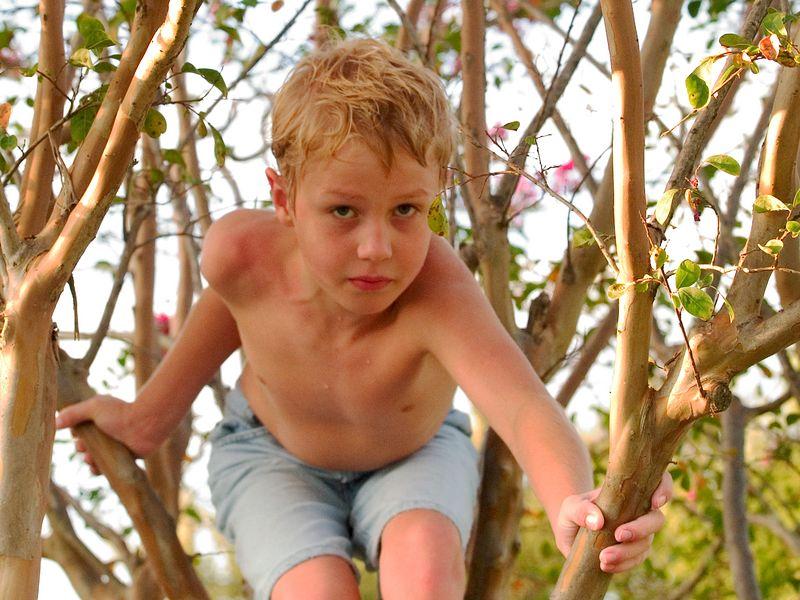 Kevin in the Secret Garden, September 4, 2004.