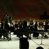 Seth's Indooor Drumline from QCHS, in competition