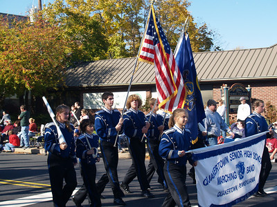 Panther Marching Band in 2008 Halloween Parade