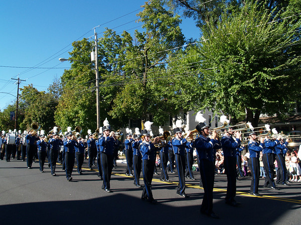 Band in Halloween Parade