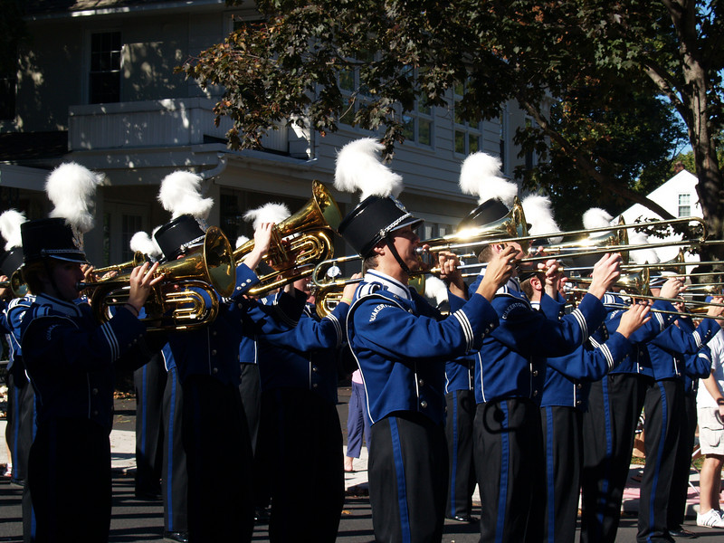 Brass, QCSHS Marching Band, Halloween Parade