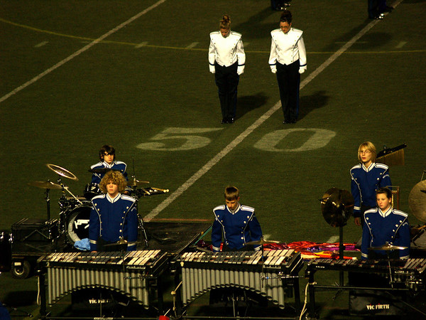 The Pit- QCHS Panther Marching Band at USSBA Championships, J. Birney Crum Stadium, Allentown