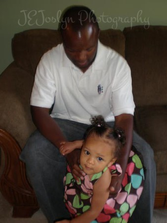 GD4's 1st birthday, with Dad, august 19, 2008.