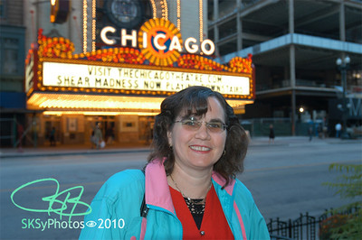 Gisele on her 'annual' Columbus Day visit to Chicago, 2006