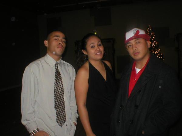 Me, Marlene (Sister) & Max (Max)