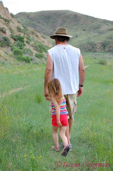 Roy and Keira Lackner near Big Sandy, Montana