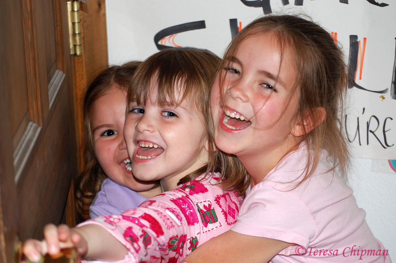 Cousins!  Linea Lake, Ericka Ramsey, Alexia Ward