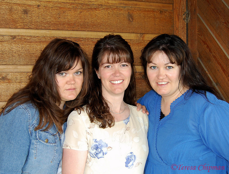 Three sisters - Amy Ward, Teresa Chipman, Michelle Beck