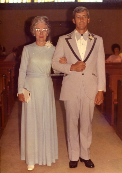 Ida Mae (Freeman) Blankenship (my maternal grandmother) and my Uncle (John Bryan Freeman)