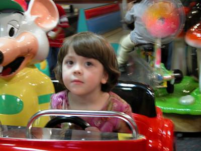 Callie driving