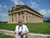 This photo was taken at Paestum while on a Rick Steves tour of Southern Italy in  April 2008.