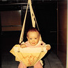 Feb. 1987<br /> 2007 Broken Oak Dr., Blacksburg, Va<br /> Cindy (7 months) enjoying the Johnny Jump-up.