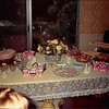 July 1986<br /> Karin Ruble's home in Los Altos, CA<br /> Refreshments at baby shower.