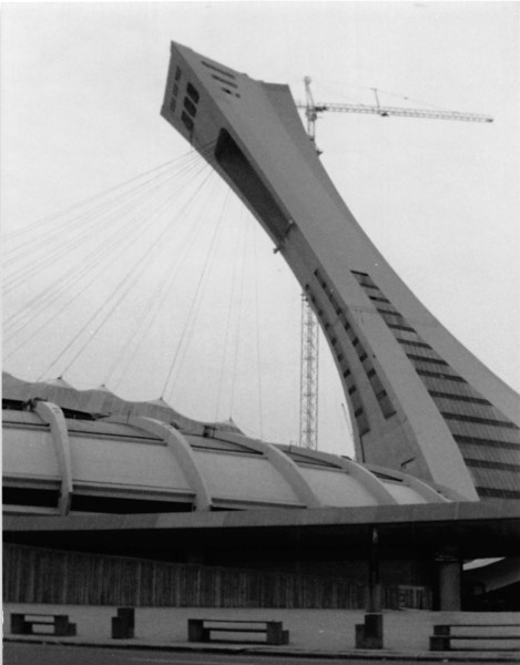 July 1987<br /> Olympic stadium in Montreal, Quebec, Canada