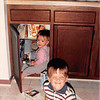 Sept. 1987<br /> 2007 Broken Oak Dr., Blacksburg, VA<br /> Cindy (13 mths. old) and Benjamin (3 1/2 yrs. old).