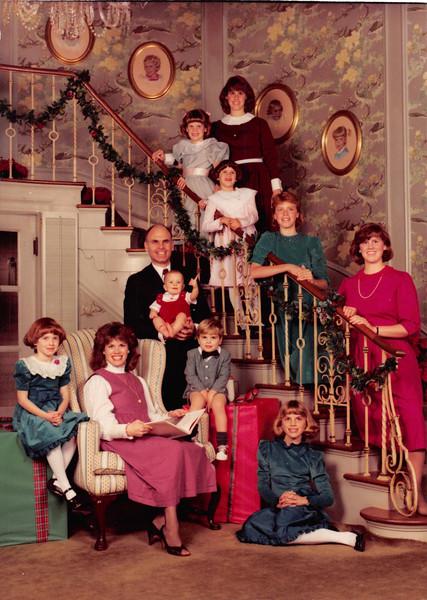 December 1984<br /> Spencer family