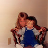 Sept. 1987<br /> 2007 Broken Oak Drive, Blacksburg, VA<br /> Teresa (8) & Cindy (13 months).