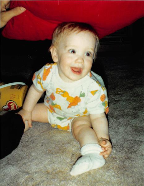 June 1987<br /> 2007 Broken Oak Dr., Blacksburg, VA<br /> Cindy (11 months)
