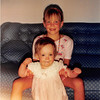 July 1987 <br /> 2007 Broken Oak Drive, Blacksburg, VA<br /> Teresa (8) & Cindy (12 months)