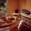 July 1986<br /> Karin Ruble's home in Los Altos, CA<br /> Refreshments & gifts (high chair, changing table, baby tub, crib bumpers, diapers) at baby shower.