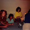 July 1986<br /> Karin Ruble's home in Los altos at my baby shower<br /> Cindy Carter, Elaine Pinto, Leslie Nay, & Pat Riches.