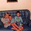 Sept. 1987--just before moving to CA<br /> 2007 Broken Oak Drive., Blacksburg, VA  24060<br /> Teresa (8), Craig (6 1/2) & Benny (3 1/2)