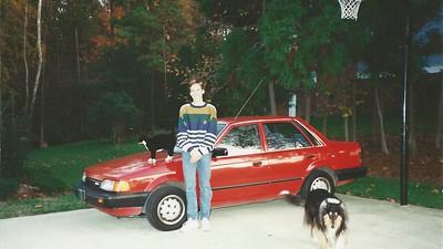 Edward III - first car - '88 med Mazda 1993