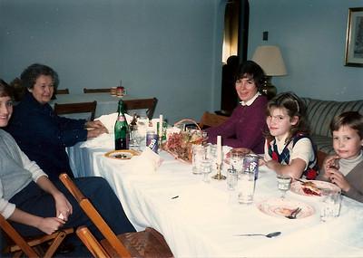 Thanksgiving at the Thompson Farm - '84