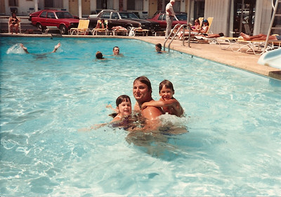 Cat, John Thompson and Edward III - Myrtle Beach - Summer '84