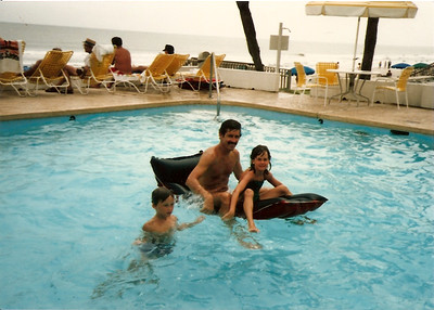 Edward III, Ed, Jr., Catherine - Summer '85 - Myrtle Beach, SC