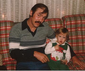 Edward III & Uncle Bob   12/79