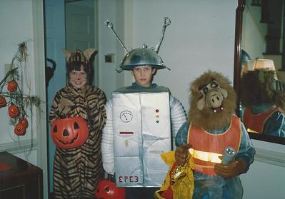 Catherine, Edward and Bryan Lehrman 10/1988