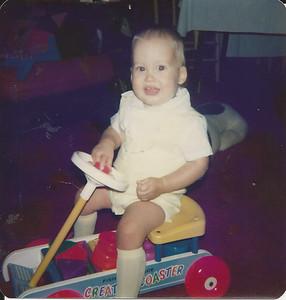 Edward III - first birthday  8/1977