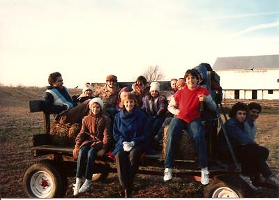 Thanksgiving at Thompson Farm  '84