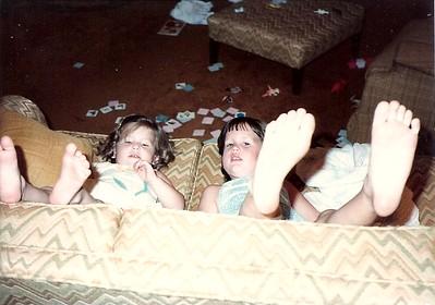 Lauren & Catherine   Summer 1983