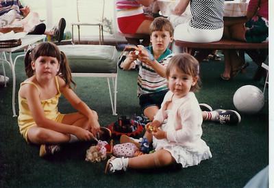 Catherine, Edward, Bridget     1983?