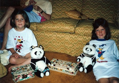 Lauren & nCatherine - Bears and Jewels and Disney shirts
