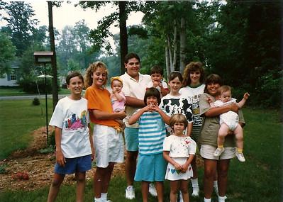 All Cerne Grandchildren except Eddie as of 7/89
