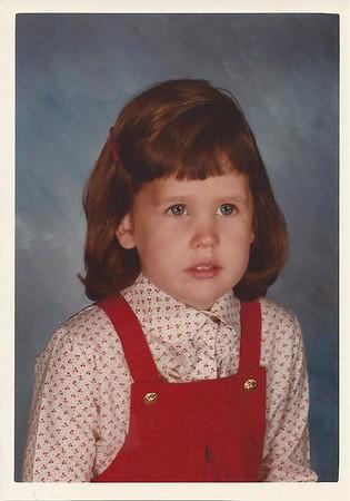 Catherine - age 4 - 1983 at Ellison Preschool